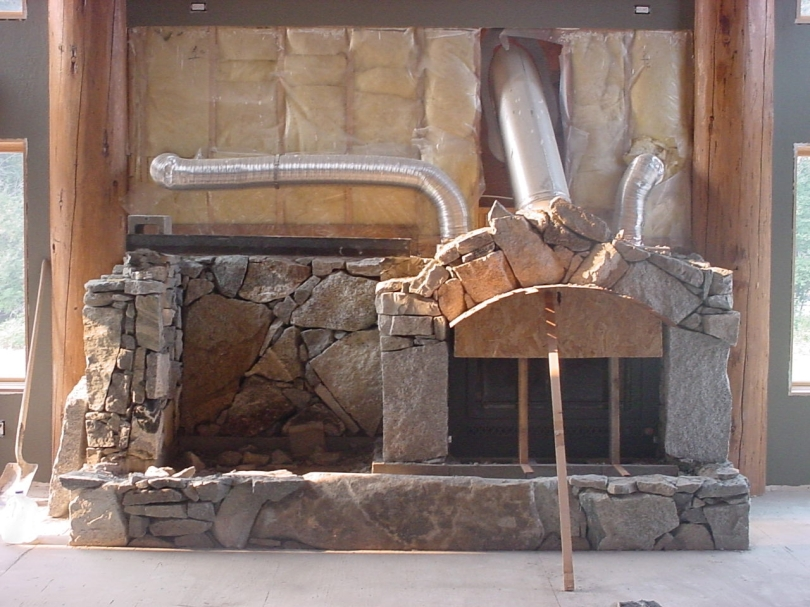fireplace arch form