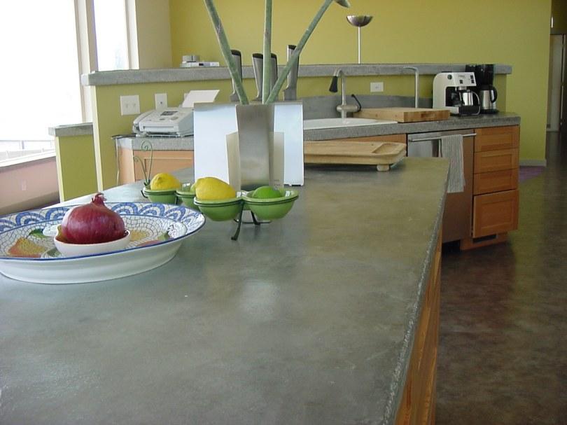 pre-cast concrete in the home