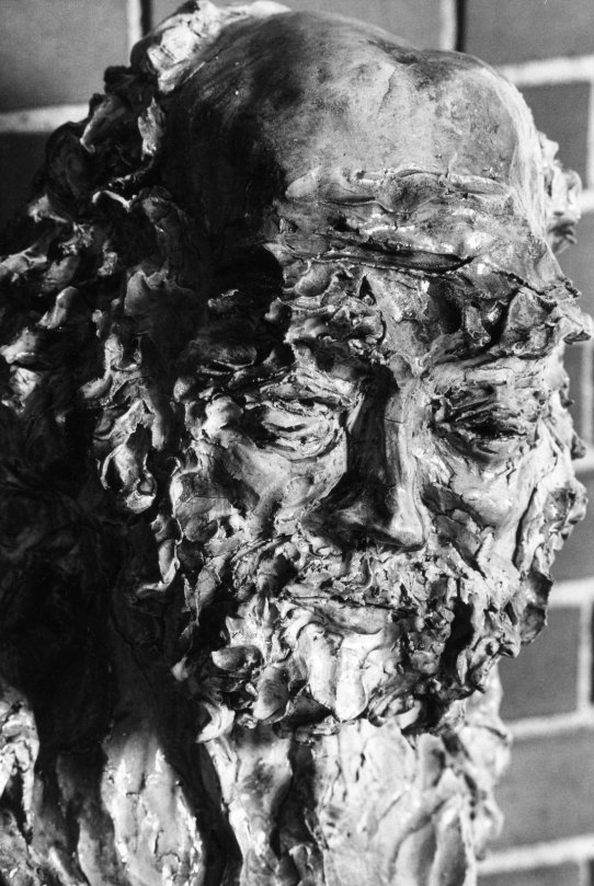 Isaiah sculpture