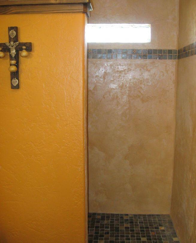 old world shower