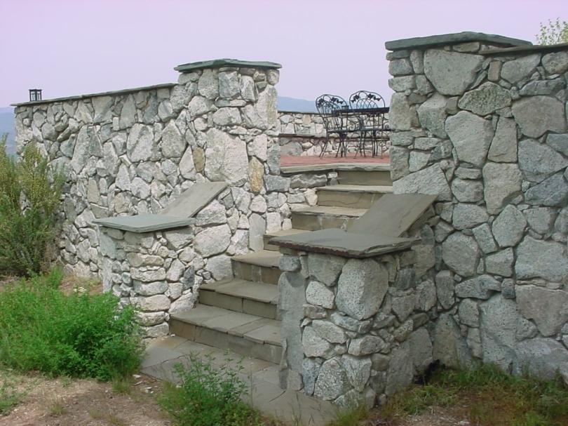 granite courtyard