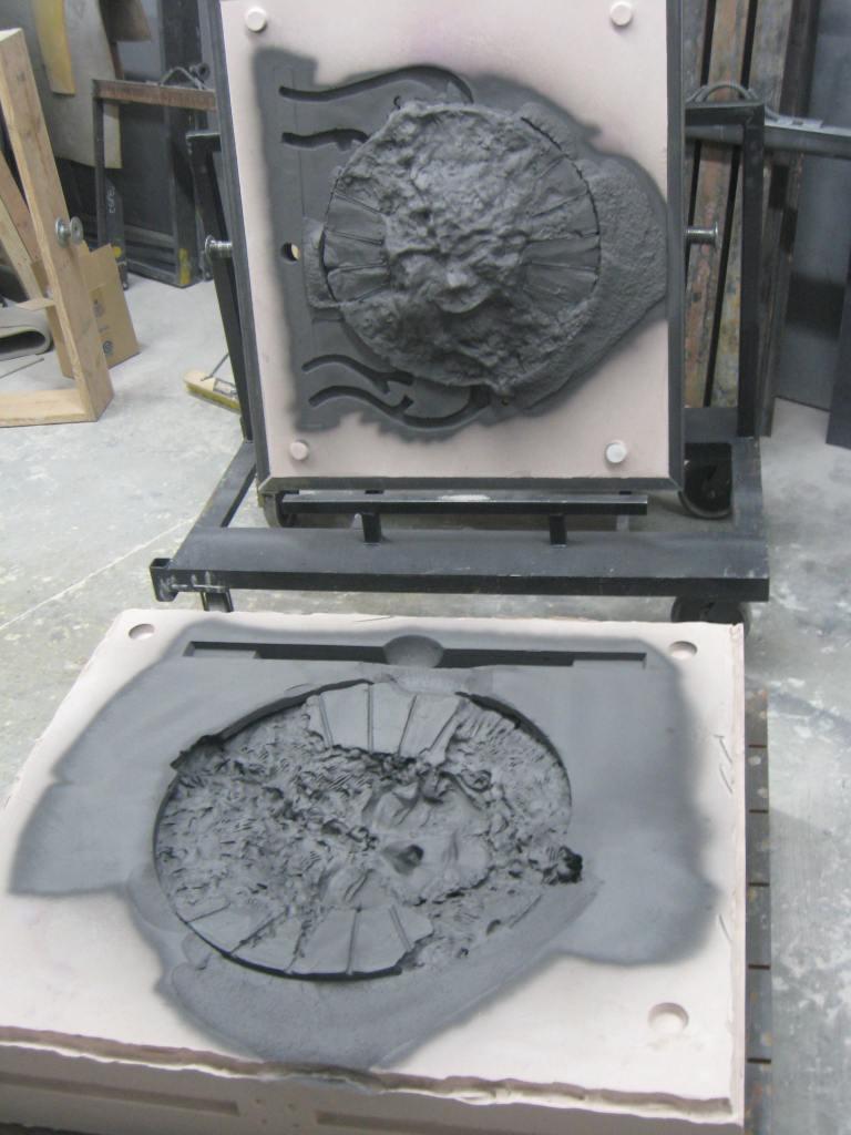 winter sun sand mold 2