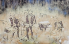 Percussionists 60 x 40