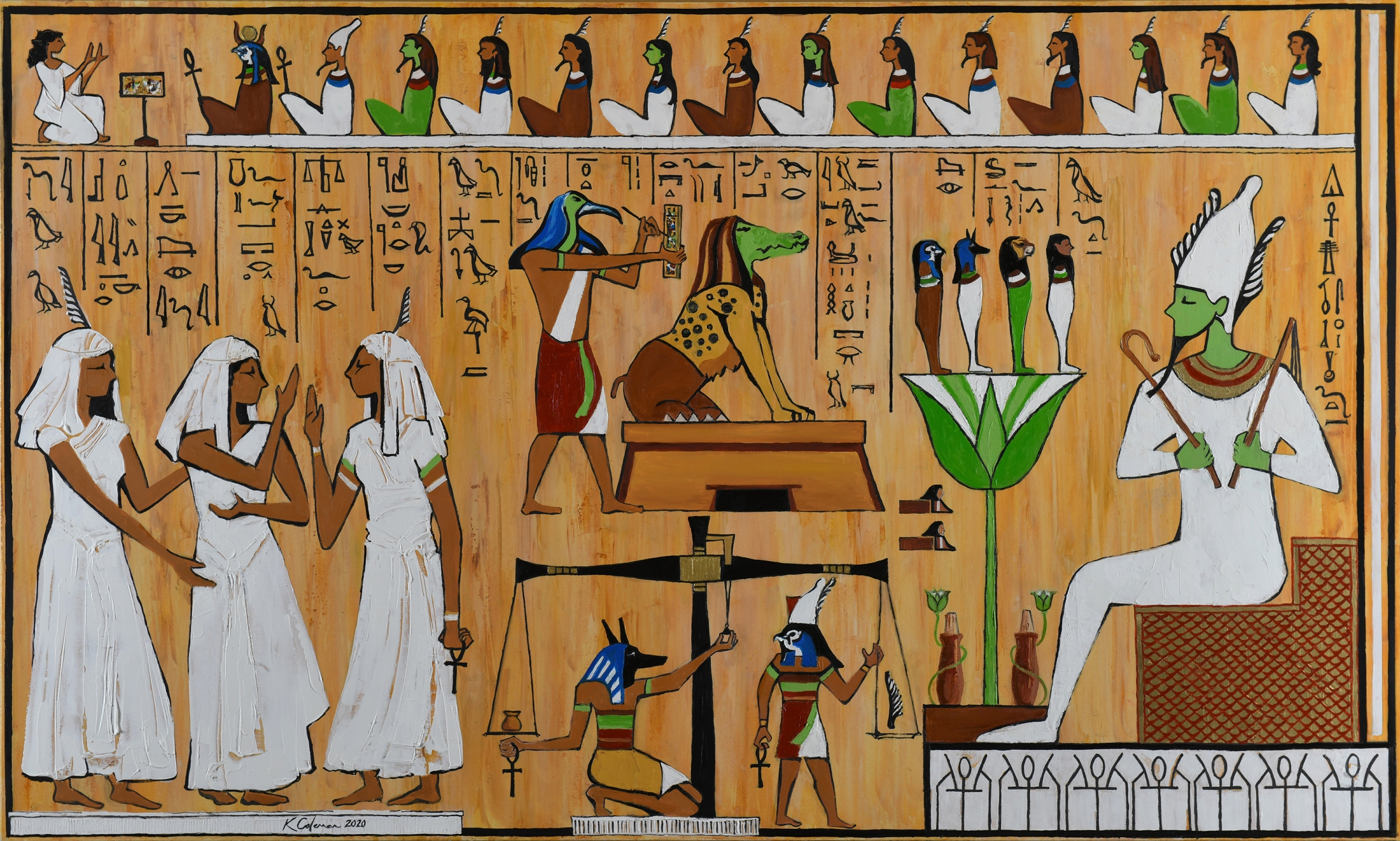 Egyptian Judgement w