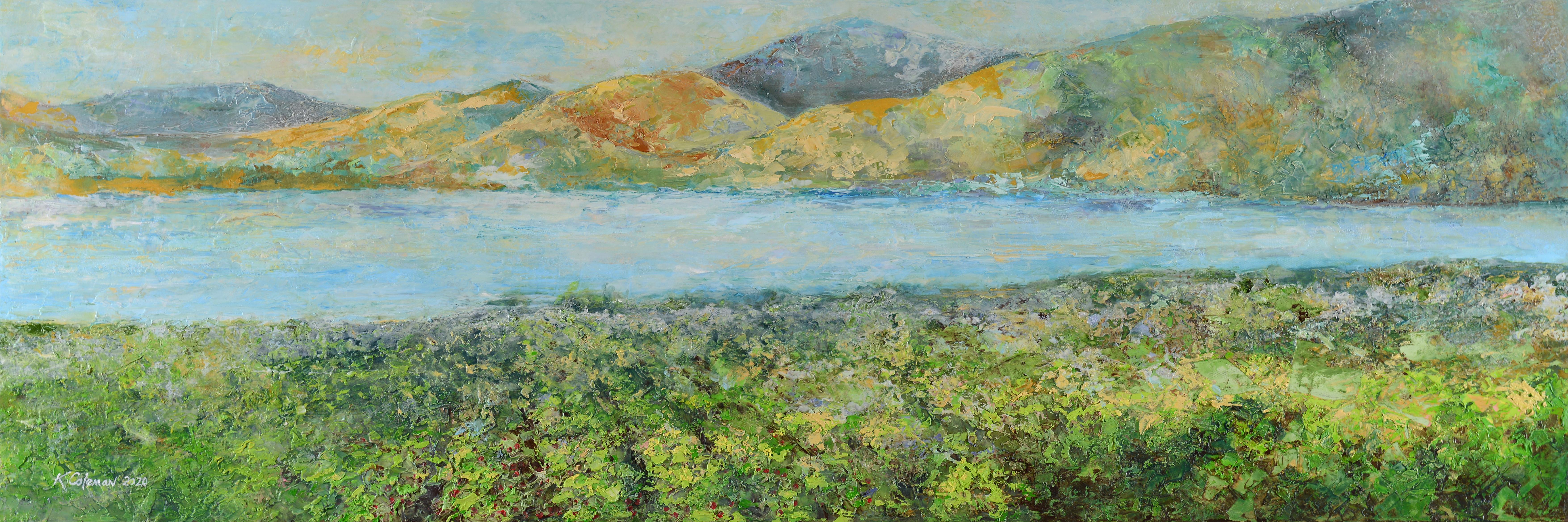 Lake Chelan by Kamron Coleman 30x10